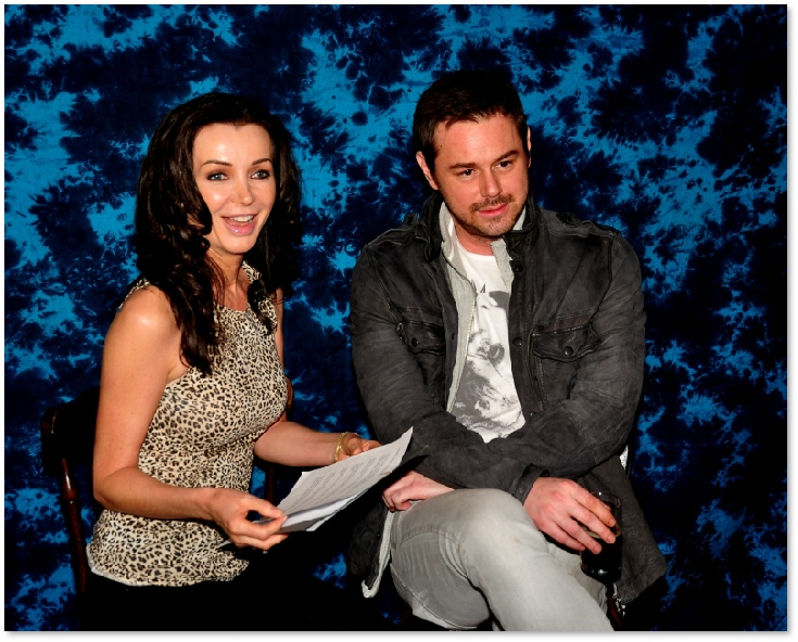 Actress Yvette Rowland Interviews Actor Danny Dyer